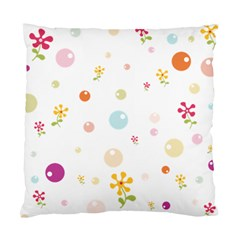 Flower Floral Star Balloon Bubble Standard Cushion Case (one Side) by Mariart
