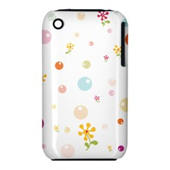 Flower Floral Star Balloon Bubble Iphone 3s/3gs by Mariart