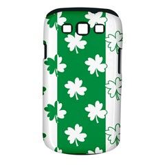 Flower Green Shamrock White Samsung Galaxy S Iii Classic Hardshell Case (pc+silicone) by Mariart