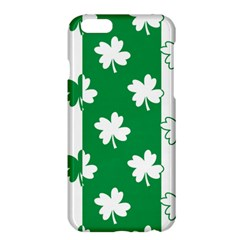 Flower Green Shamrock White Apple Iphone 6 Plus/6s Plus Hardshell Case by Mariart