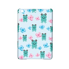 Frog Green Pink Flower Ipad Mini 2 Hardshell Cases by Mariart