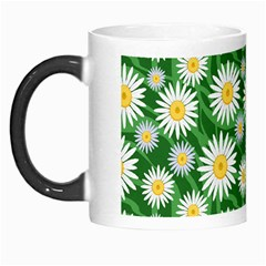 Flower Sunflower Yellow Green Leaf White Morph Mugs by Mariart