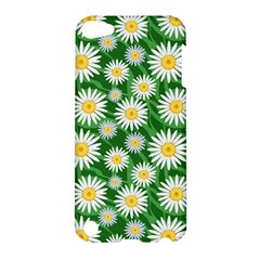Flower Sunflower Yellow Green Leaf White Apple Ipod Touch 5 Hardshell Case by Mariart