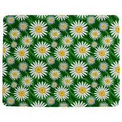 Flower Sunflower Yellow Green Leaf White Jigsaw Puzzle Photo Stand (rectangular) by Mariart