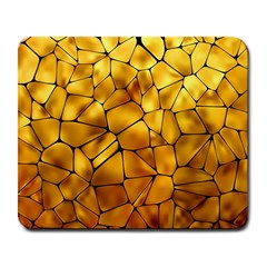 Gold Large Mousepads by Mariart