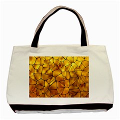 Gold Basic Tote Bag (two Sides) by Mariart