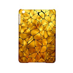 Gold Ipad Mini 2 Hardshell Cases by Mariart
