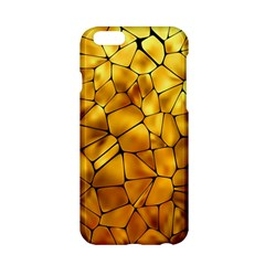 Gold Apple Iphone 6/6s Hardshell Case by Mariart
