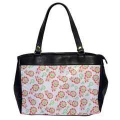 Flower Floral Red Star Sunflower Office Handbags by Mariart