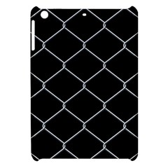 Iron Wire White Black Apple Ipad Mini Hardshell Case by Mariart