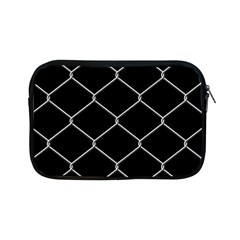 Iron Wire White Black Apple Ipad Mini Zipper Cases by Mariart
