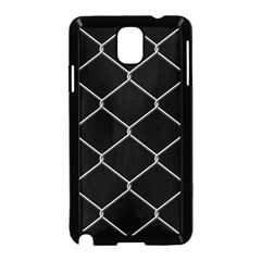 Iron Wire White Black Samsung Galaxy Note 3 Neo Hardshell Case (black) by Mariart