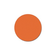 Heart Orange Love Golf Ball Marker (4 Pack) by Mariart