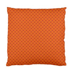 Heart Orange Love Standard Cushion Case (one Side) by Mariart