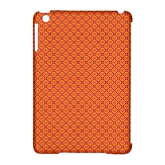 Heart Orange Love Apple Ipad Mini Hardshell Case (compatible With Smart Cover) by Mariart