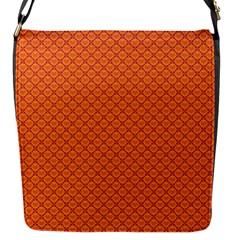 Heart Orange Love Flap Messenger Bag (s) by Mariart