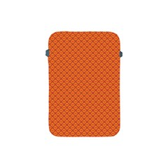 Heart Orange Love Apple Ipad Mini Protective Soft Cases by Mariart
