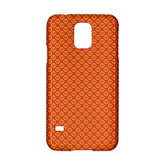 Heart Orange Love Samsung Galaxy S5 Hardshell Case  by Mariart