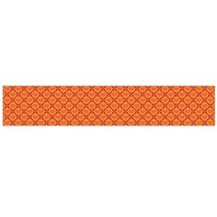 Heart Orange Love Flano Scarf (large) by Mariart