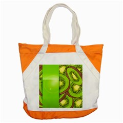 Fruit Slice Kiwi Green Accent Tote Bag by Mariart