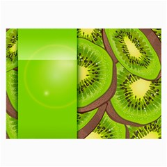 Fruit Slice Kiwi Green Large Glasses Cloth by Mariart