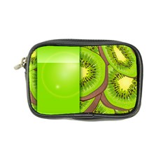 Fruit Slice Kiwi Green Coin Purse by Mariart