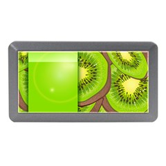Fruit Slice Kiwi Green Memory Card Reader (mini) by Mariart