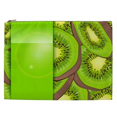 Fruit Slice Kiwi Green Cosmetic Bag (xxl)  by Mariart
