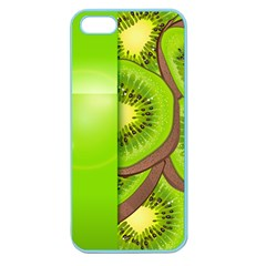 Fruit Slice Kiwi Green Apple Seamless Iphone 5 Case (color) by Mariart