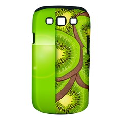 Fruit Slice Kiwi Green Samsung Galaxy S Iii Classic Hardshell Case (pc+silicone) by Mariart