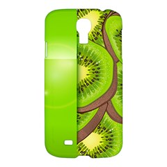 Fruit Slice Kiwi Green Samsung Galaxy S4 I9500/i9505 Hardshell Case by Mariart