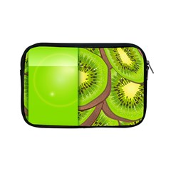 Fruit Slice Kiwi Green Apple Ipad Mini Zipper Cases by Mariart