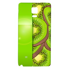 Fruit Slice Kiwi Green Galaxy Note 4 Back Case by Mariart