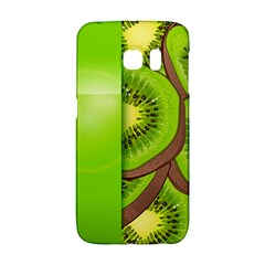 Fruit Slice Kiwi Green Galaxy S6 Edge by Mariart