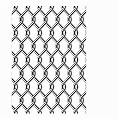Iron Wire Black White Small Garden Flag (two Sides) by Mariart