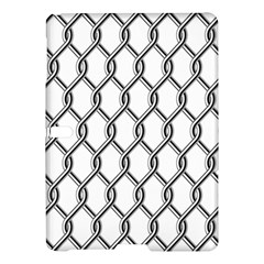 Iron Wire Black White Samsung Galaxy Tab S (10 5 ) Hardshell Case  by Mariart