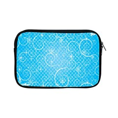 Leaf Blue Snow Circle Polka Star Apple Ipad Mini Zipper Cases by Mariart