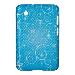 Leaf Blue Snow Circle Polka Star Samsung Galaxy Tab 2 (7 ) P3100 Hardshell Case  by Mariart