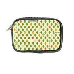Merry Christmas Polka Dot Circle Snow Tree Green Orange Red Gray Coin Purse by Mariart