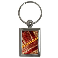 Wood And Jewels Key Chains (rectangle)