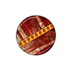 Wood And Jewels Hat Clip Ball Marker (10 Pack)