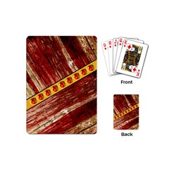 Wood And Jewels Playing Cards (mini)