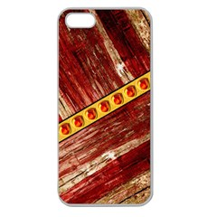 Wood And Jewels Apple Seamless Iphone 5 Case (clear)