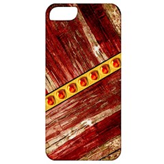 Wood And Jewels Apple Iphone 5 Classic Hardshell Case