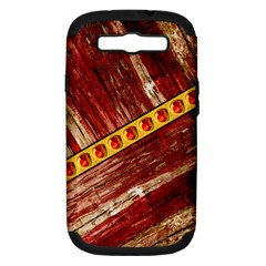 Wood And Jewels Samsung Galaxy S Iii Hardshell Case (pc+silicone)