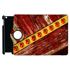 Wood And Jewels Apple Ipad 3/4 Flip 360 Case by linceazul