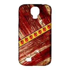Wood And Jewels Samsung Galaxy S4 Classic Hardshell Case (pc+silicone) by linceazul