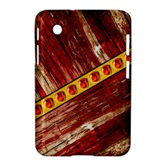 Wood And Jewels Samsung Galaxy Tab 2 (7 ) P3100 Hardshell Case