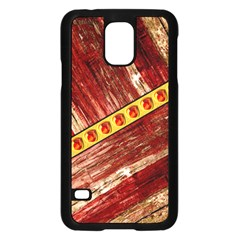 Wood And Jewels Samsung Galaxy S5 Case (black)