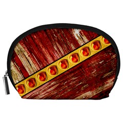 Wood And Jewels Accessory Pouches (large)